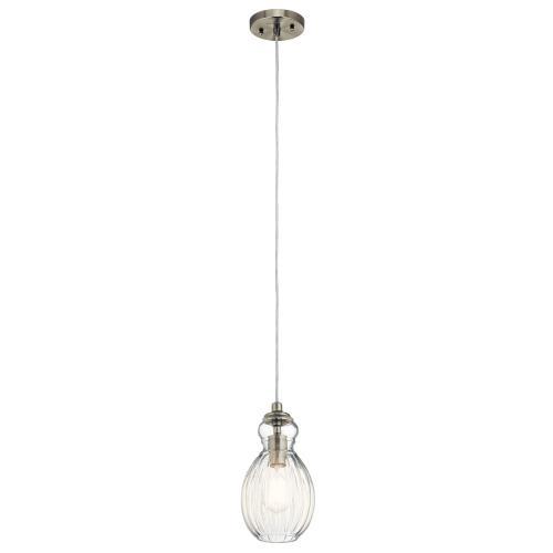 Kichler Lighting 43959 Riviera - 1 light Mini Pendant - 6 inches wide