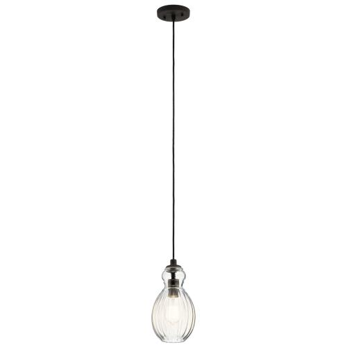 Kichler Lighting 43959OZ Riviera - One Light Mini Pendant