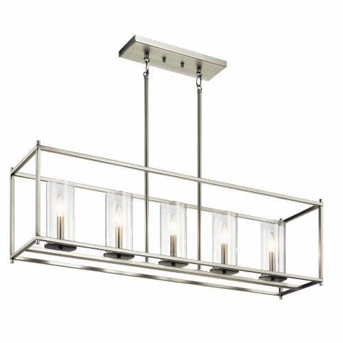 Kichler Lighting 43995 Crosby - Five Light Linear Chandelier