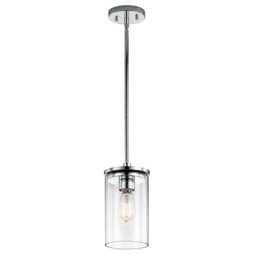Kichler Lighting 43996 Crosby - One Light Mini Pendant