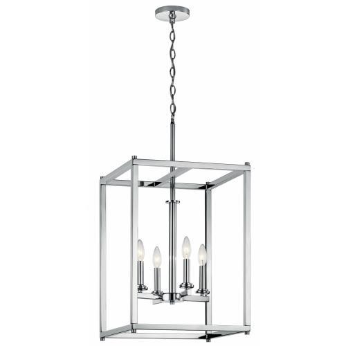 Kichler Lighting 43998 Crosby - Four Light Foyer Pendant
