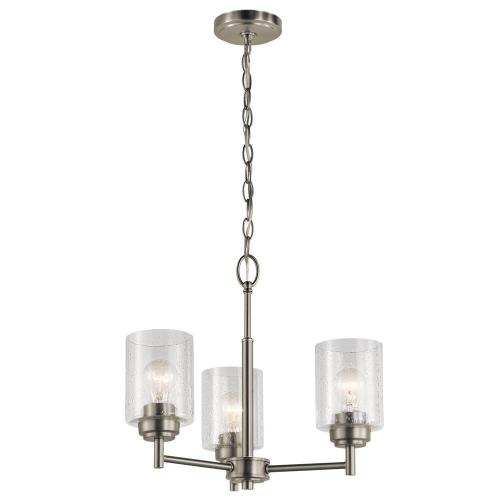 Kichler Lighting 44029 Winslow - 3 light Mini Chandelier - 15.25 inches tall by 18 inches wide