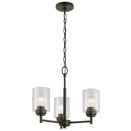 Kichler Lighting 44029M Winslow - Three Light Mini Chandelier