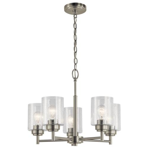 Kichler Lighting 44030 Winslow - 5 light Small Chandelier - 16 inches tall by 19.75 inches wide