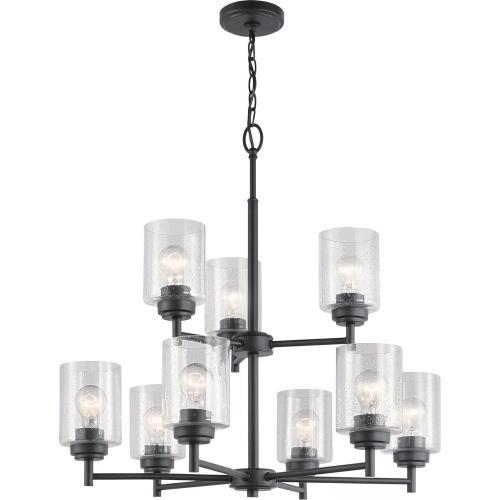 Kichler Lighting 44031 Winslow - Nine Light 2-Tier Chandelier