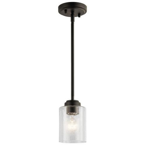 Kichler Lighting 44032 Winslow - 1 light Mini Pendant - 7 inches tall by 4.25 inches wide