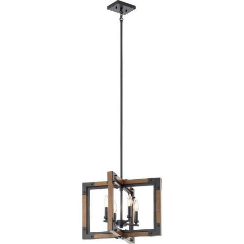 Kichler Lighting 44046 Marimount - Four Light Convertible Chandelier