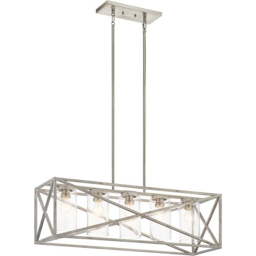 Kichler Lighting 44081 Moorgate - Five Light Linear Chandelier