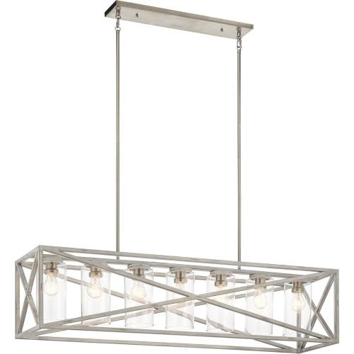 Kichler Lighting 44082 Moorgate - Seven Light Linear Chandelier