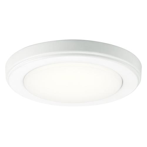 Kichler Lighting 44244 Zeo - 14.5W 1 LED Round Flush Mount - 1 inches tall by 7 inches wide
