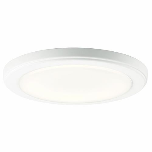 Kichler Lighting 44246 Zeo - 18.5W 1 LED Round Flush Mount - 1 inches tall by 10 inches wide
