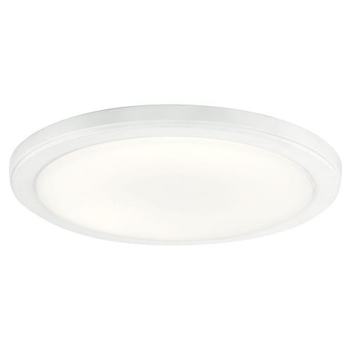 Kichler Lighting 44248 Zeo - 24W 1 LED Round Flush Mount - 1 inches tall by 13 inches wide