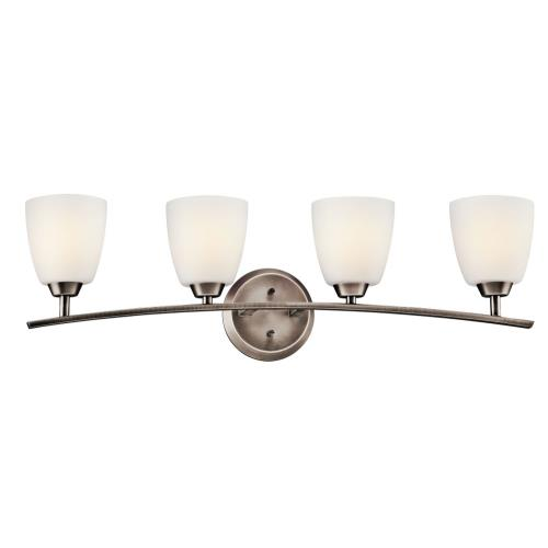 Kichler Lighting 45361BPT Granby - Four Light Bath Bar