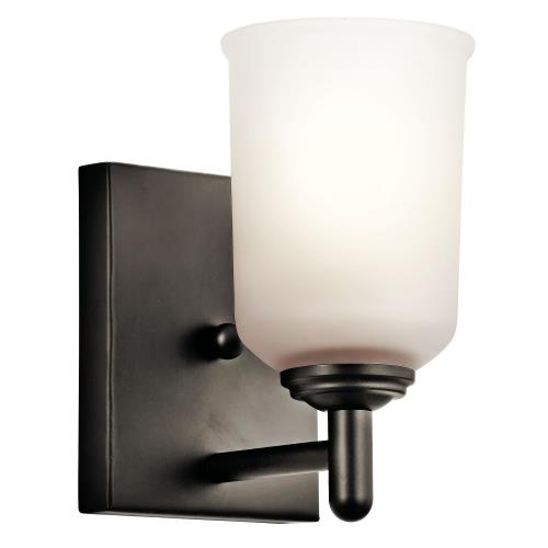 Kichler Lighting 45572 Shailene - 1 Light Wall Sconce - with Transitional inspirations - 8.25 inches tall by 5 inches wide