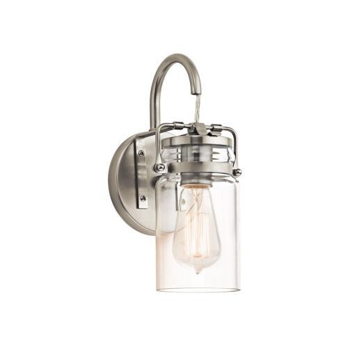 Kichler Lighting 45576 Brinley - One Light Wall Bracket