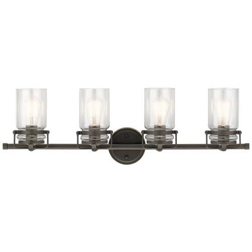 Kichler Lighting 4569 Brinley 4 Light  Bath Vanity Approved for Damp Locations