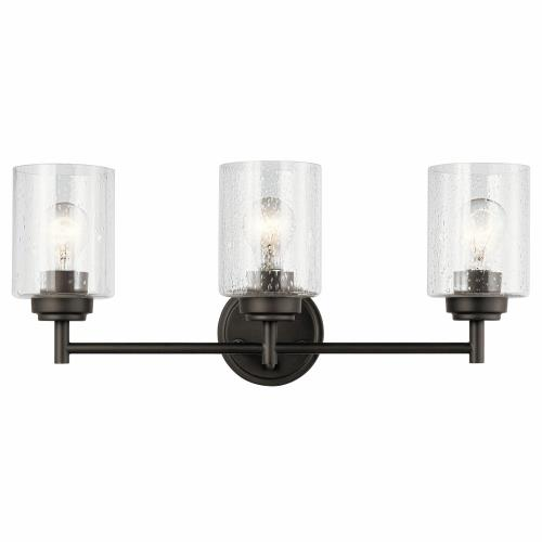 Kichler Lighting 45886 Winslow 3 Light  Bath Vanity Approved for Damp Locations
