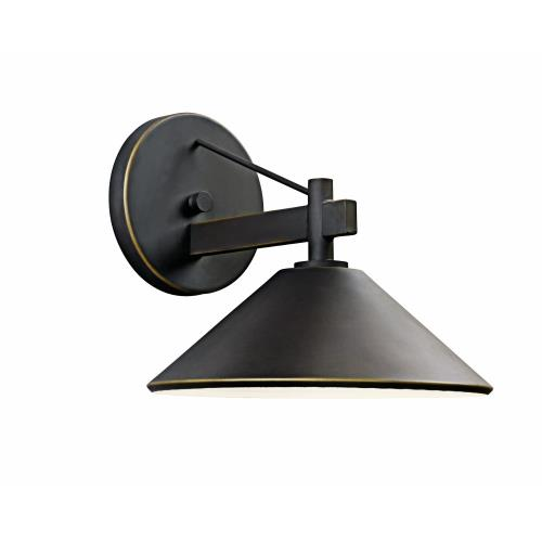 Kichler Lighting 49061 Ripley - 1 light Outdoor Wall Bracket - 8 inches wide