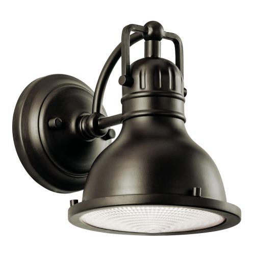 Kichler Lighting 49064OZ Hatteras Bay - One Light Small Outdoor Wall Lantern