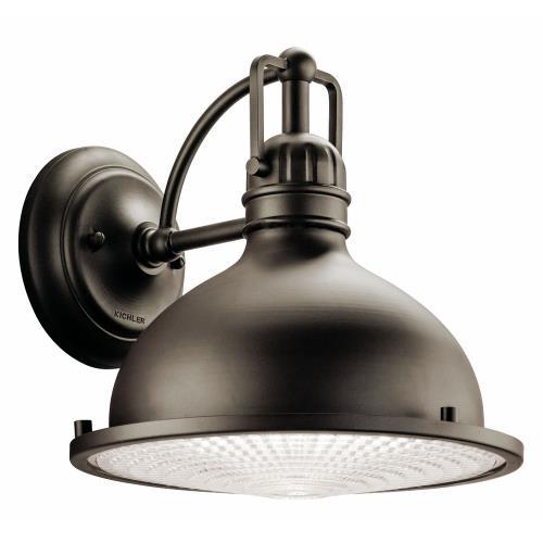 Kichler Lighting 49067OZ Hatteras Bay - One Light X-Large Outdoor Wall Lantern