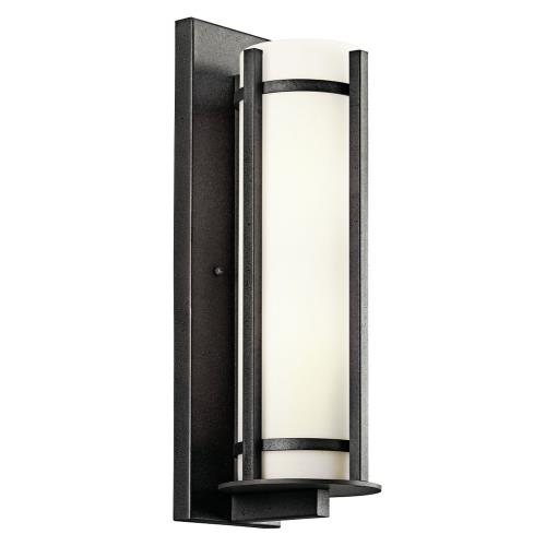 Kichler Lighting 49120AVI Camden - 2 light Outdoor Wall Mount - with Lodge/Country/Rustic inspirations - 19.5 inches tall by 6.25 inches wide