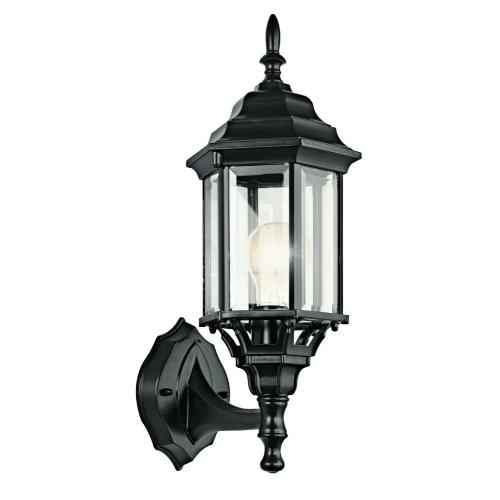 Kichler Lighting 49255 Chesapeake - 1 light Outdoor Wall Mount - with Traditional inspirations - 17 inches tall by 6.5 inches wide