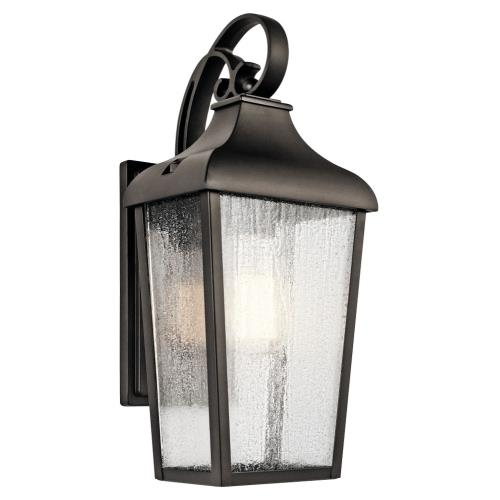 Kichler Lighting 49735OZ Forestdale - 1 light Small Outdoor Wall Lantern - with Traditional inspirations - 14.75 inches tall by 7 inches wide