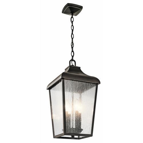 Kichler Lighting 49740OZ Forestdale - Four Light Outdoor Hanging Lantern