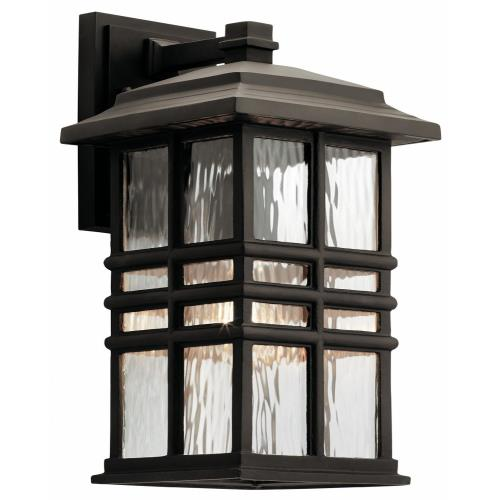 Kichler Lighting 49830OZ Beacon Square Arts and Crafts/Mission 1 Light Outdoor Wall Sconce