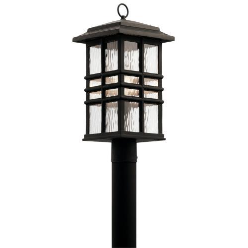 Kichler Lighting 49832 Beacon Square - One Light Outdoor Post Lantern