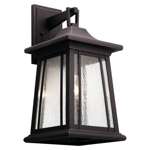 Kichler Lighting 49910RZ Taden - One Light XLarge Outdoor Wall Lantern