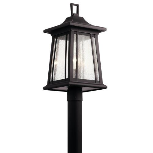 Kichler Lighting 49911RZ Taden - One Light Outdoor Post Lantern