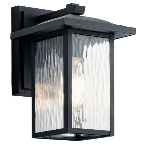 Kichler Lighting 49924 Capanna - 1 light Small Outdoor Wall Lantern - with Transitional inspirations - 10.25 inches tall by 6.5 inches wide