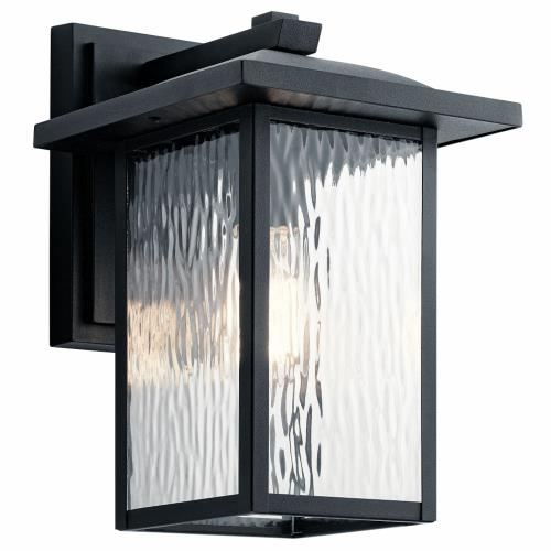 Kichler Lighting 49925 Capanna - 1 light Medium Outdoor Wall Lantern - with Transitional inspirations - 13.25 inches tall by 8.5 inches wide
