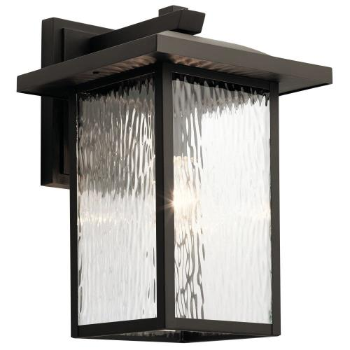 Kichler Lighting 49926 Capanna - 1 light X-Large Outdoor Wall Lantern - with Transitional inspirations - 16 inches tall by 10.5 inches wide