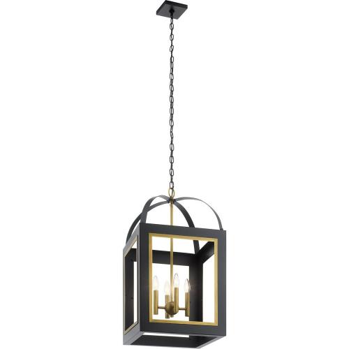 Kichler Lighting 52029 Vath - 4 light Large Foyer Pendant - 30 inches tall by 16 inches wide