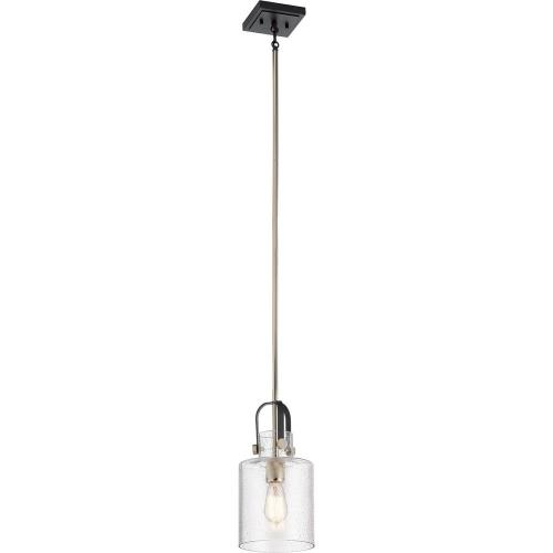 Kichler Lighting 52035 Kitner - 1 light Pendant - with Vintage Industrial inspirations - 14.75 inches tall by 7 inches wide
