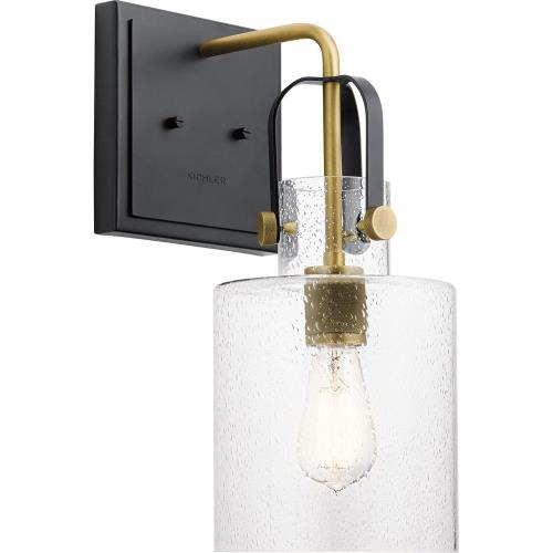 Kichler Lighting 52036 Kitner - 1 light Wall Bracket - with Vintage Industrial inspirations - 16.5 inches tall by 7 inches wide