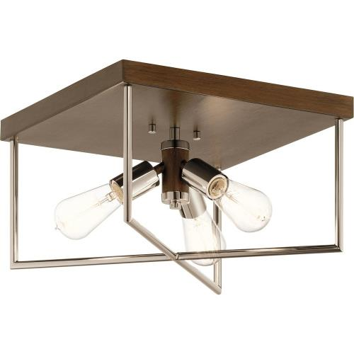 Kichler Lighting 52094 Tanis - 3 light Flush Mount - 8.5 inches tall by 14 inches wide