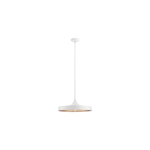 Kichler Lighting 52096 Elias - 1 light Convertible Pendant - with Mid-Century/Retro inspirations - 9.75 inches tall by 22 inches wide