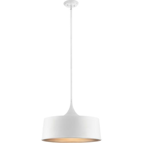 Kichler Lighting 52097 Elias - 1 light Convertible Pendant - with Mid-Century/Retro inspirations - 15.25 inches tall by 22 inches wide