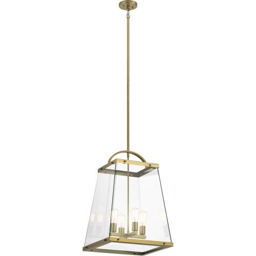 Kichler Lighting 52124 Darton - 4 light Large Foyer Pendant - with Transitional inspirations - 25.75 inches tall by 17.75 inches wide