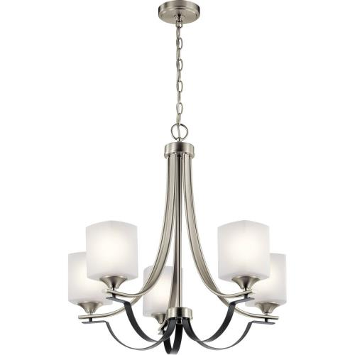 Kichler Lighting 52276 Tula - 5 light Meidum Chandelier - 24.75 inches tall by 25 inches wide