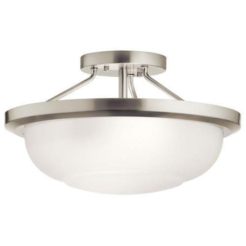 Kichler Lighting 52396 Ritson - 2 Light Semi-Flush Mount - 13.5 inches wide