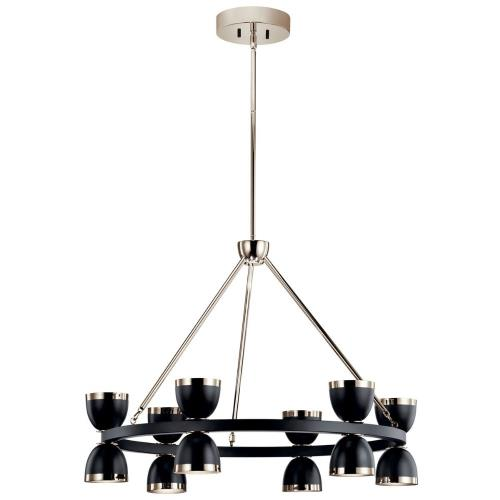 Kichler Lighting 52418 Baland - 31 Inch 12 LED Large Chandelier