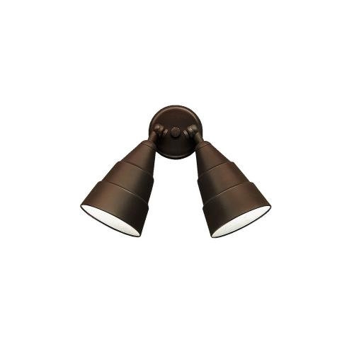Kichler Lighting 6052 Cans And Bullets - 2 light Wall Mount - with Utilitarian inspirations - 11.25 inches tall by 6 inches wide