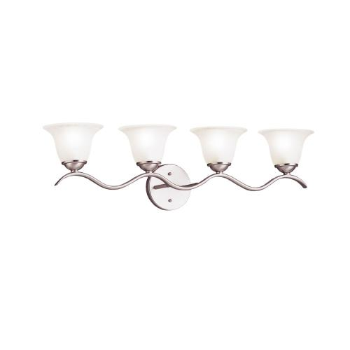 Kichler Lighting 6324 Dover - 4 light Bath Strip - with Transitional inspirations - 8.75 inches tall by 30.5 inches wide