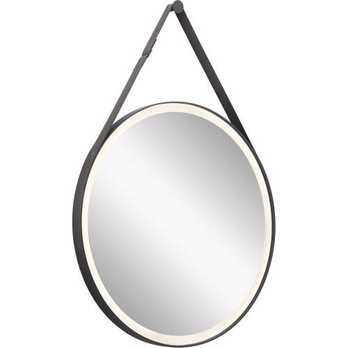 Kichler Lighting 86000MBK Martell - 61.5W LED Mirror - with Contemporary inspirations - 39.5 inches tall by 27.75 inches wide