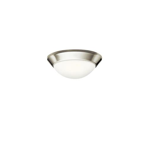 Kichler Lighting 8880NI Ceiling Space - 1 light Flush Mount - with Contemporary inspirations - 4.25 inches tall by 10 inches wide