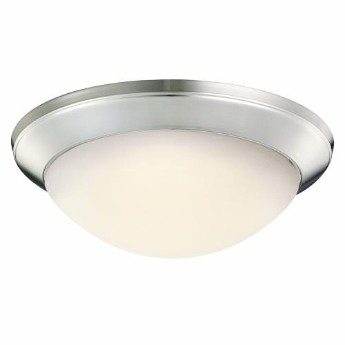 Kichler Lighting 8881NI Ceiling Space - 1 light Flush Mount - with Contemporary inspirations - 4.5 inches tall by 14 inches wide